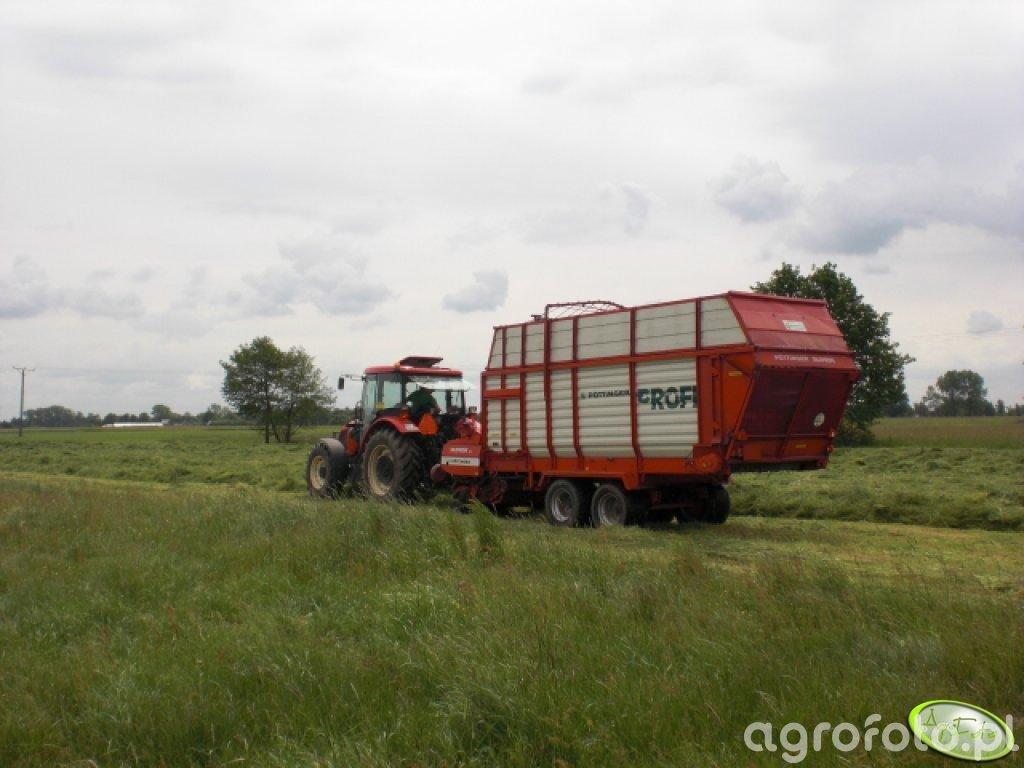 Zbiór trawy w kiszonke