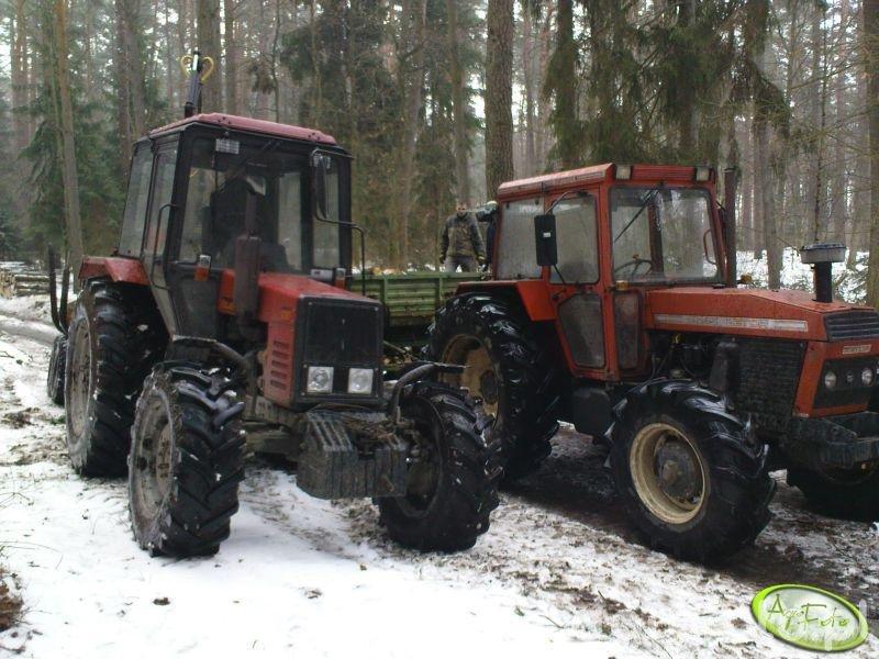 Zetor 10145 i Belarus