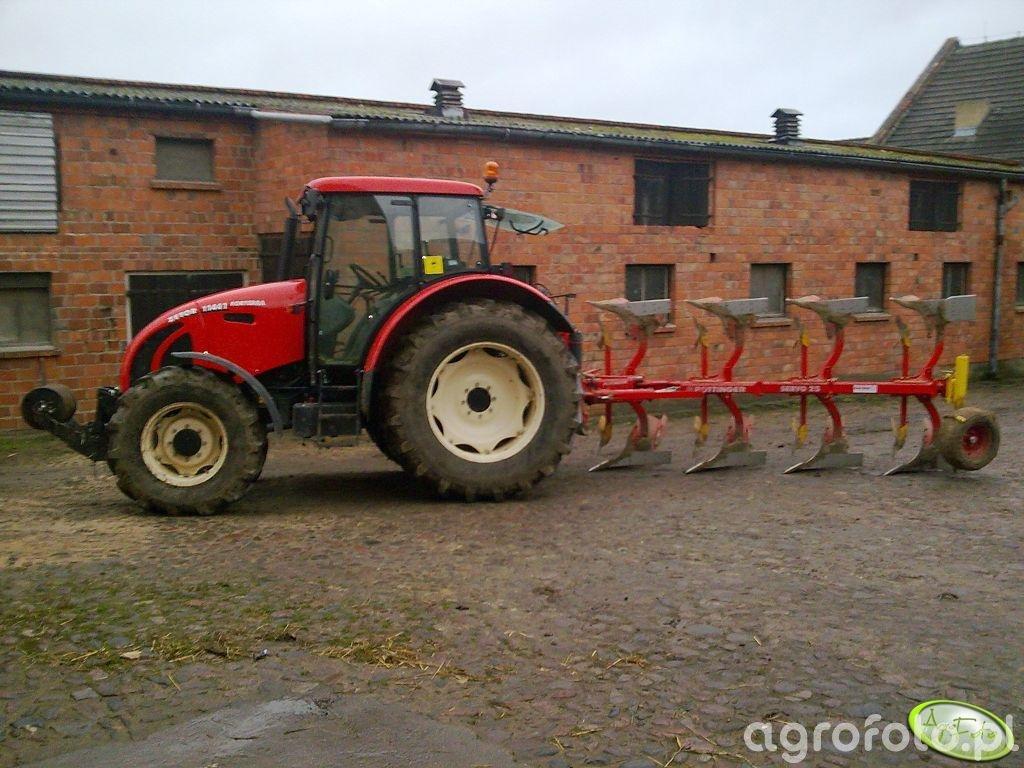 Zetor 11441 Forterra + Pottinger Servo 25