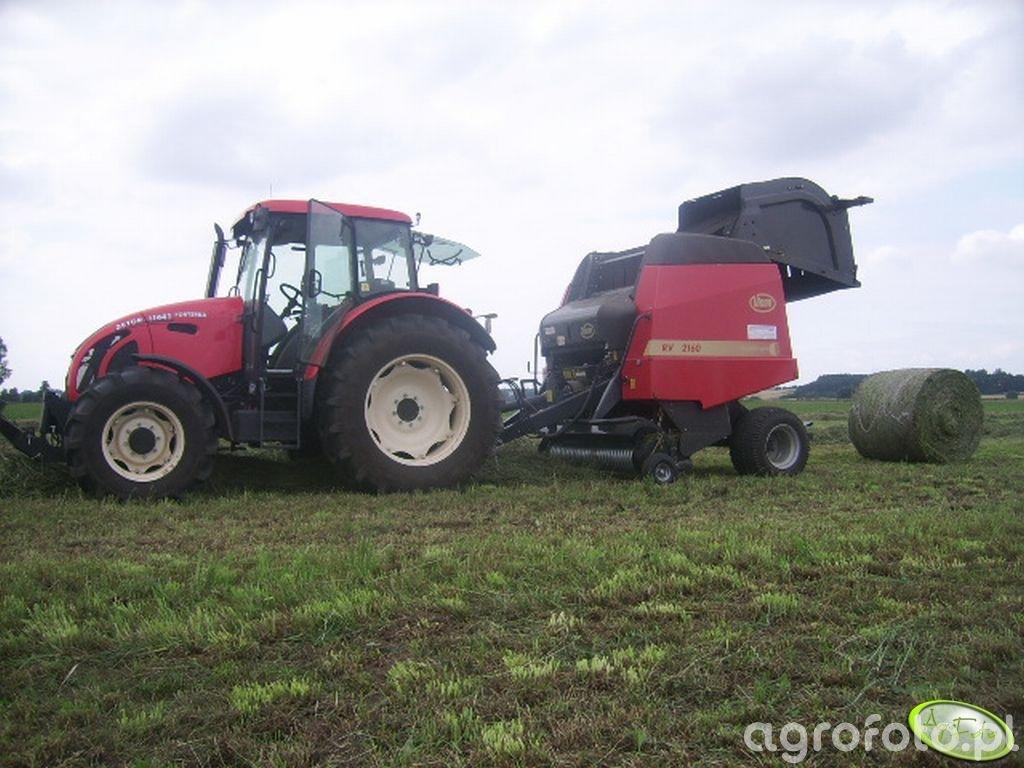 Zetor 11441 + Kvernerland Vicon RV2160 OC