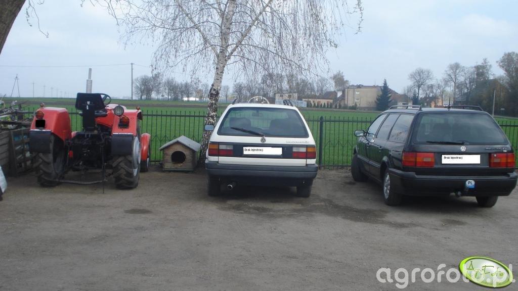 Zetor 3011 + 2x Volkswagen Passat