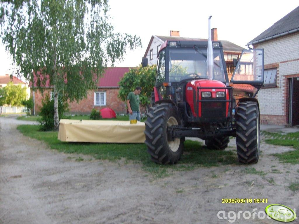 Zetor 6340 + Krone 2.40m