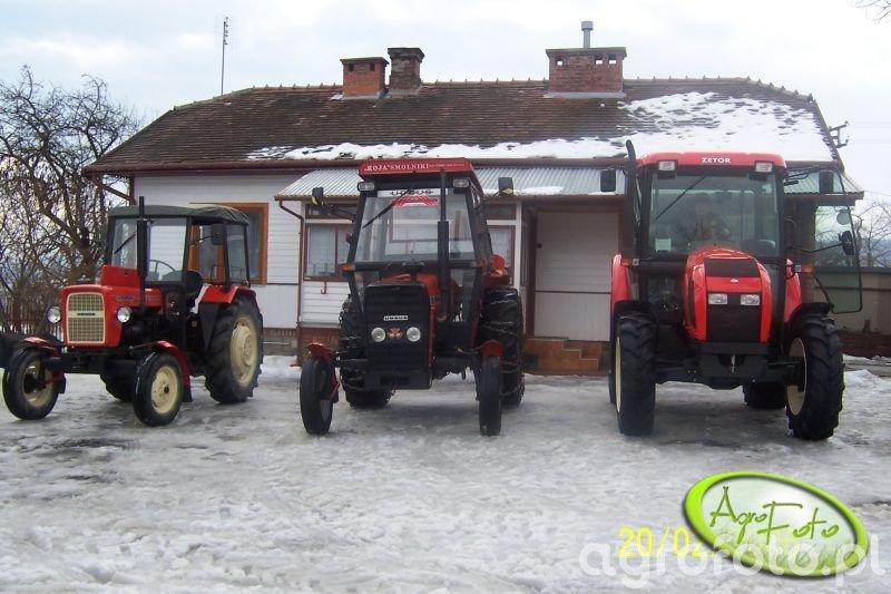 Zetor 6441, Ursus c330 i 3512