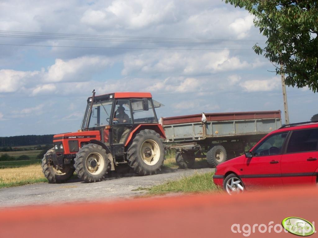 Zetor 7340 Turbo + przyczepa
