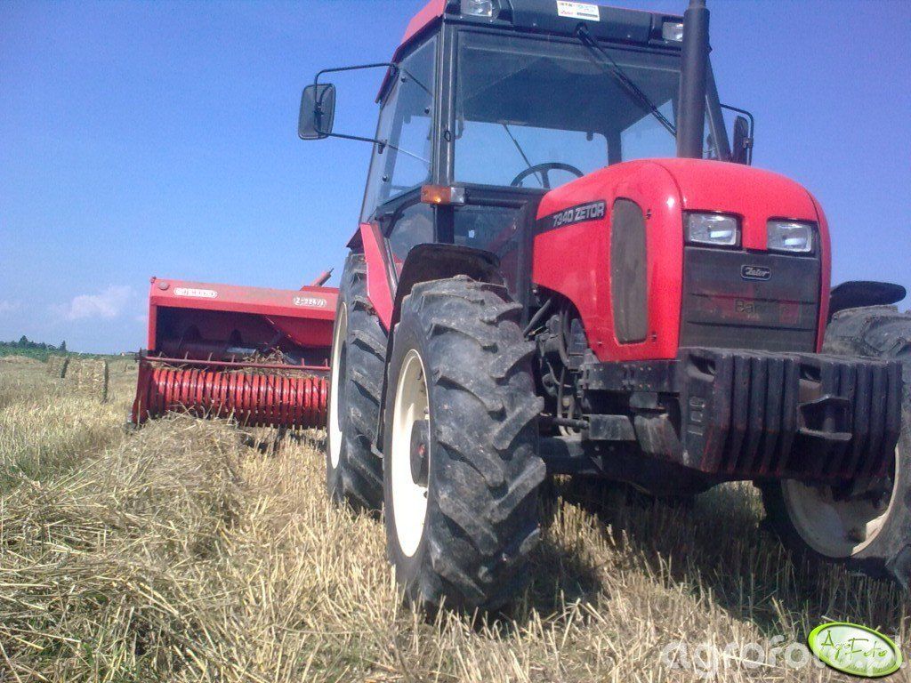 ZETOR 7340 turbo & SIPMA Z-224