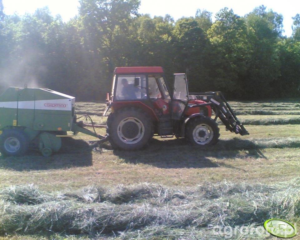 Zetor 7340 z turem 4 + sipma farma