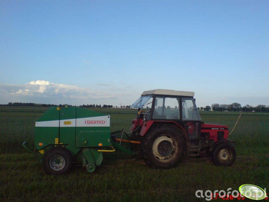 Zetor 7711 + Sipma Farma II