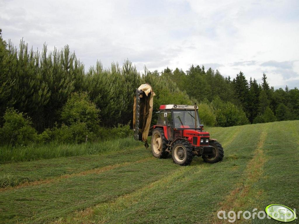 Zetor 7745 Turbo + Krone AM 282