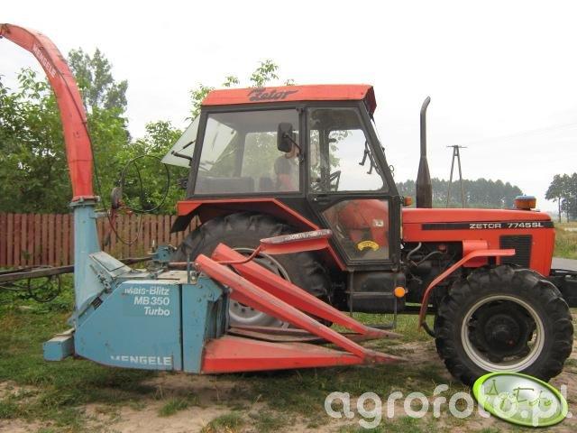 Zetor 7745+Mengele 350 Turbo