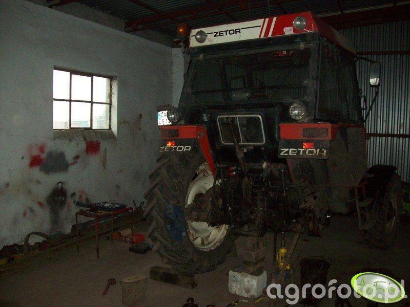 Zetor 7745T- remont zwolnicy