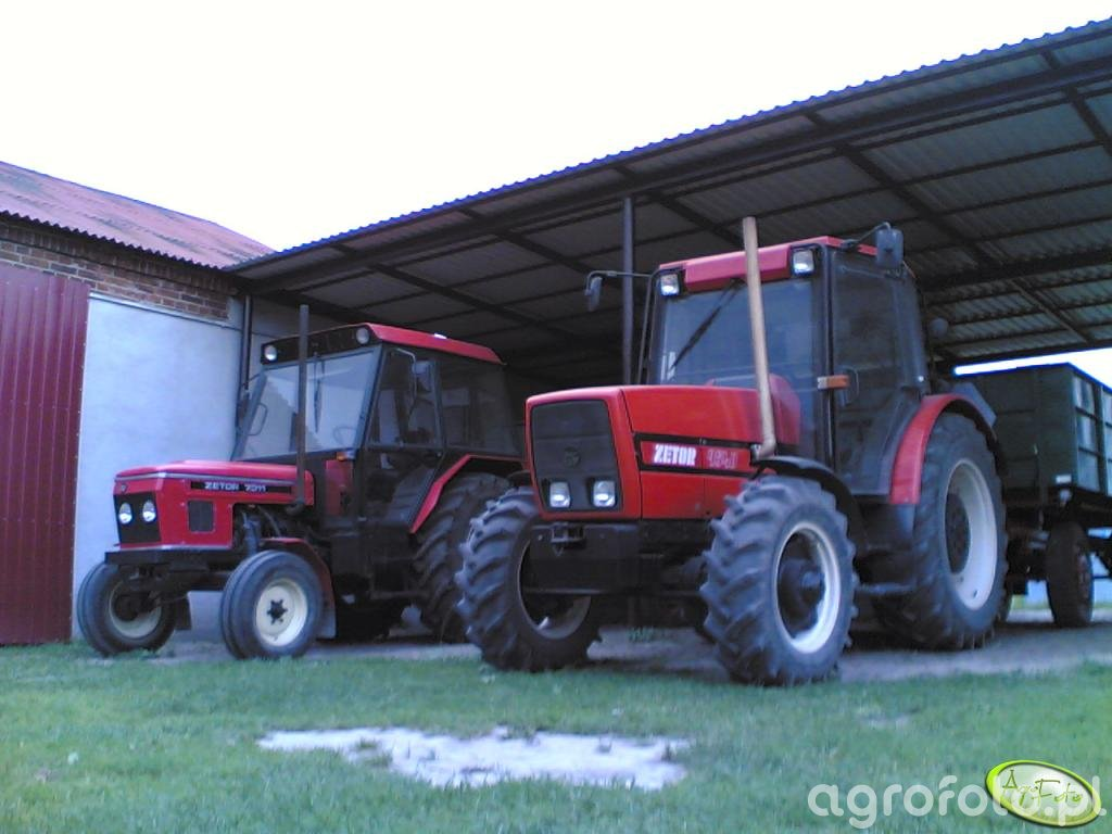 Zetor 9540 & 7011