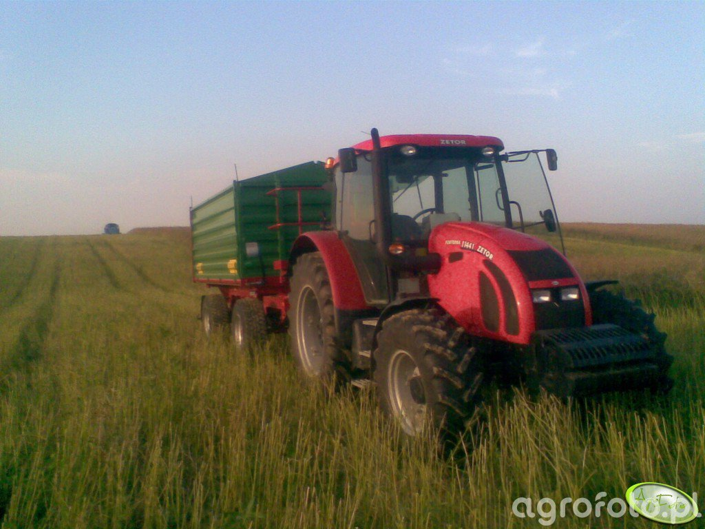 Zetor Forterra 11441 + Metaltech DB12000