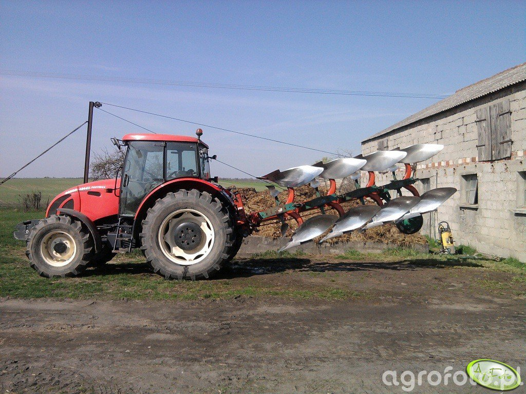 Zetor Forterra 12441 + Kverneland  F 160
