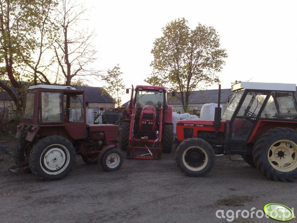 Zetor Forterra 9641, 7245 i T25A