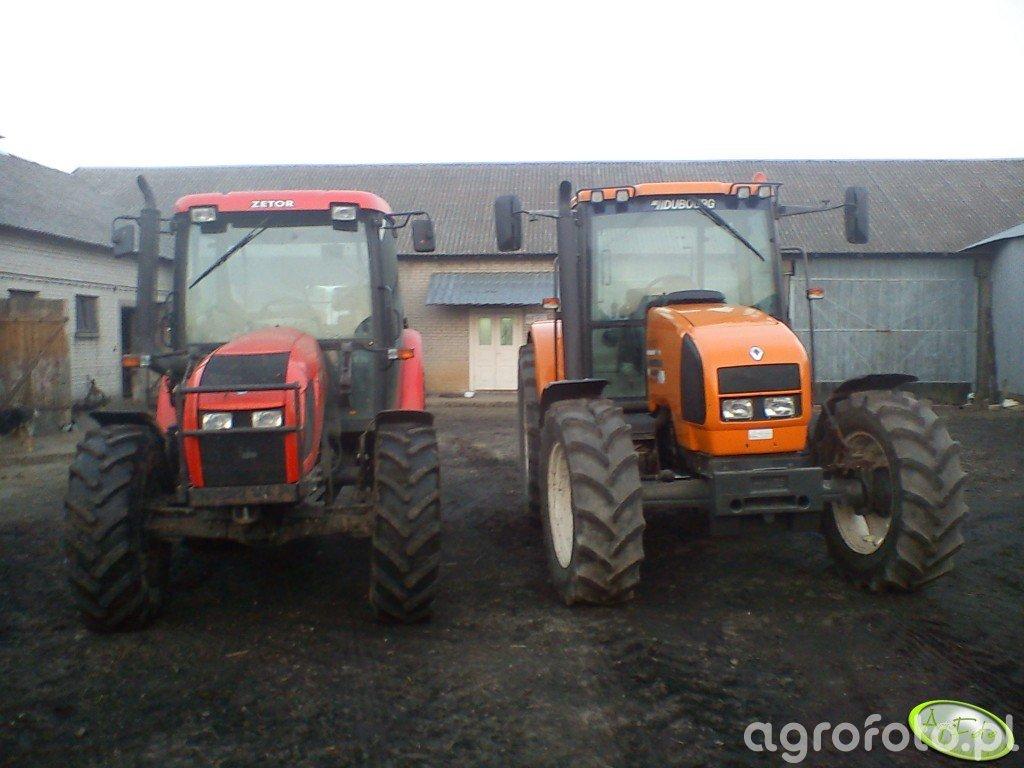 Zetor Proxima 8441 i Renault Ares 610 rx