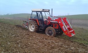 Zetor 7245 & IT 1600 & Kverneland & Orka