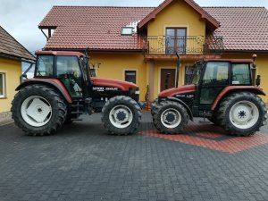 New Holland M100 & New Holland L85