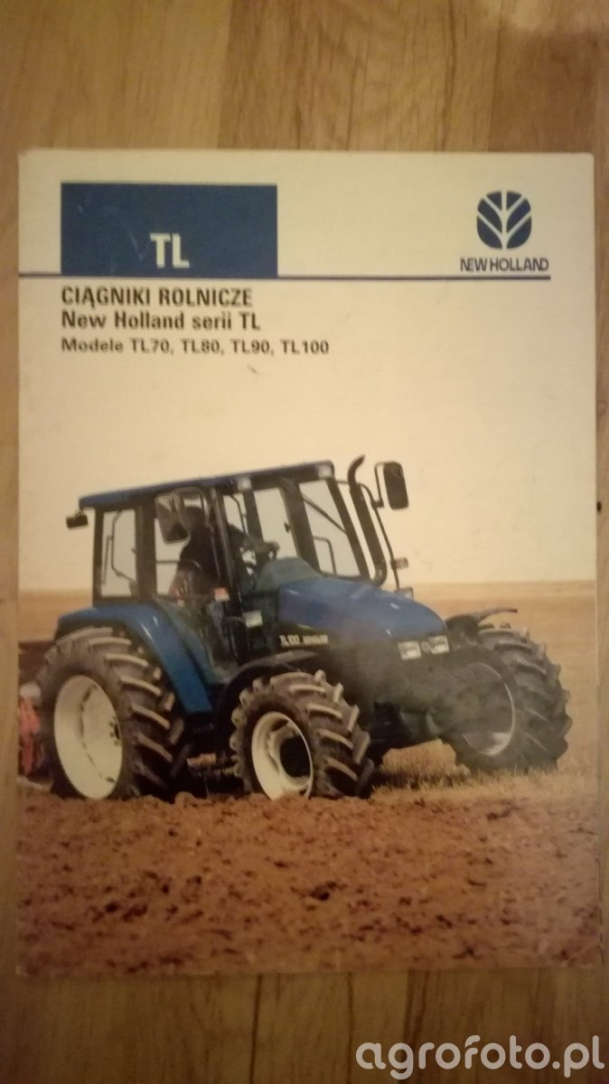 Prospekt New Holland Tl
