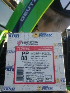 Deutz Fahr Agrolux 65 Filtr oleju silnika PP88