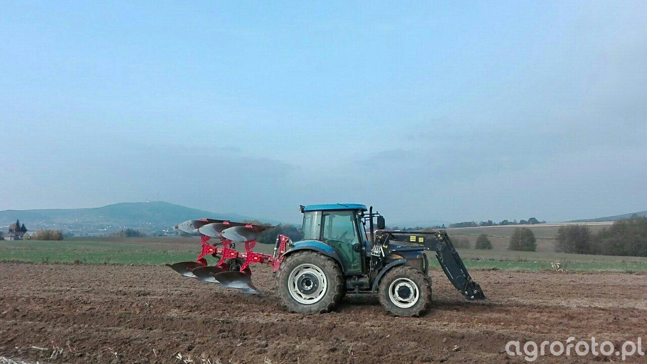 New Holland TD5030 + Akpil KM80