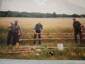 Ogrodzenie wybiegów dla bydła 2003 rok