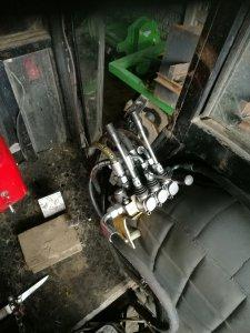 Przerobiona hydraulika w Ursusie C-360