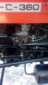 Ursus C-4011 (C360) Turbo Pompa rotacyjna