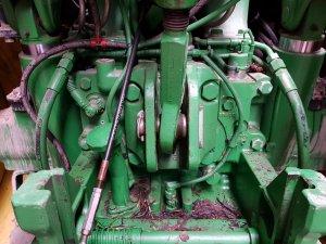 hydraulika John deere 6140r a wolny spływ