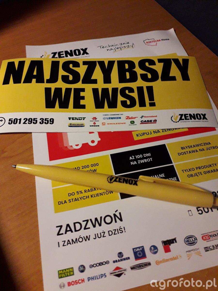 Naklejka Najszybszy We Wsi od firmy Zenox