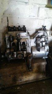 Ursus C-4011-pompa wtryskowa