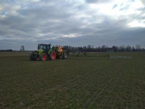 Claas Arion 410 & Amazone ux 3200