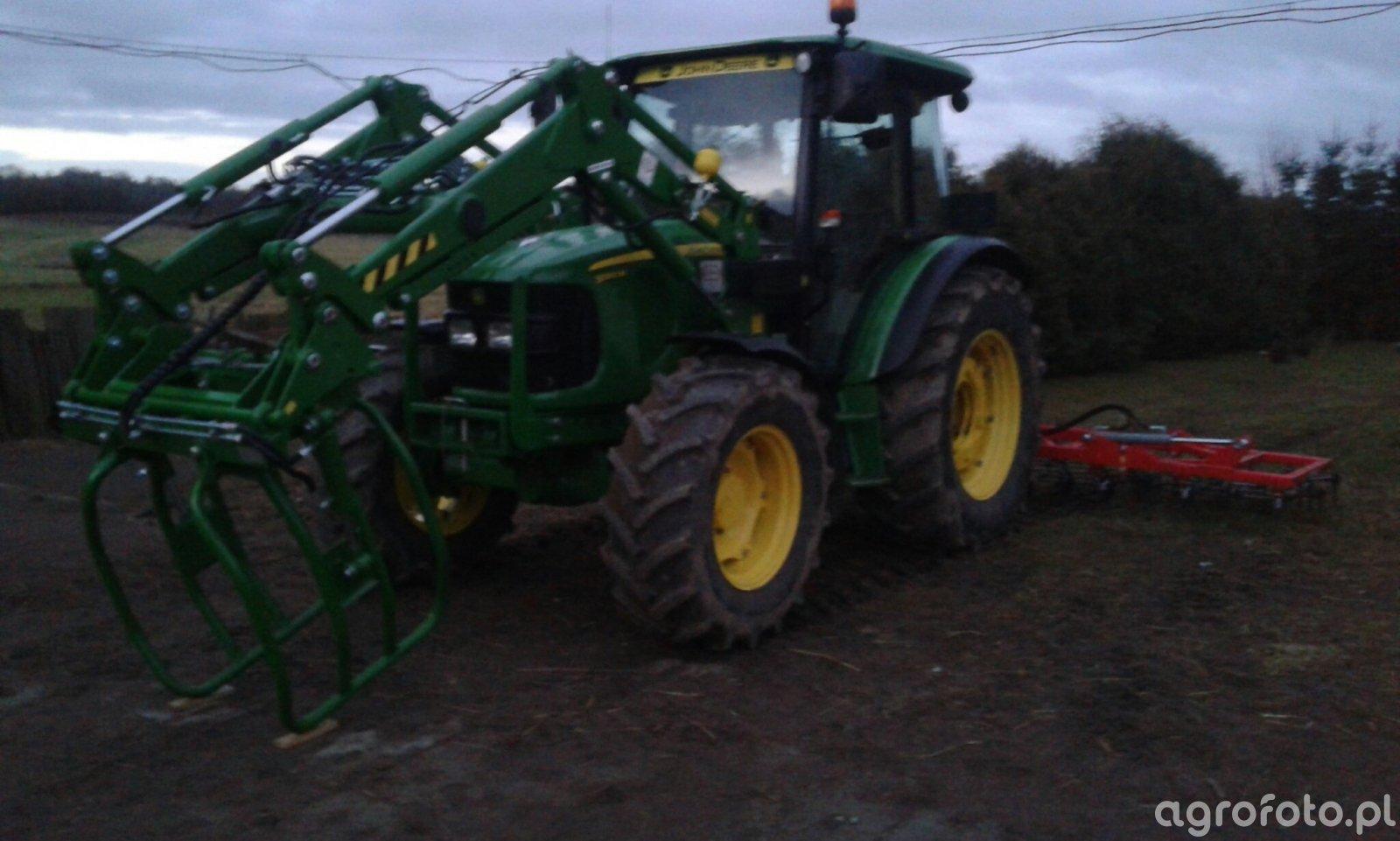 John Deere 5090M + Brony ciężkie 5