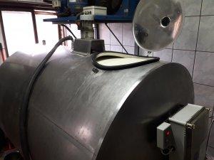 Zbiornik na mleko 2100 litrów
