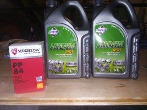 Zetor 4011 olej do silnika