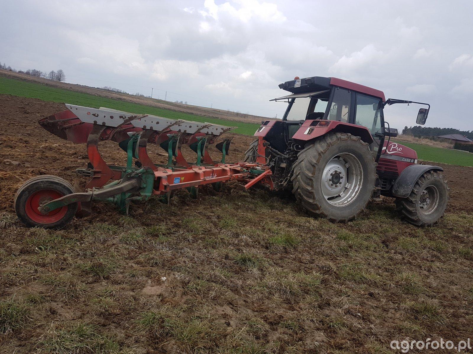 Case 5150 & Kverneland eg85 Vario