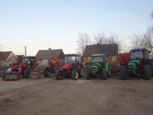 Deutz fahr agrofarm 430 &Deutz fahr agrolux 410