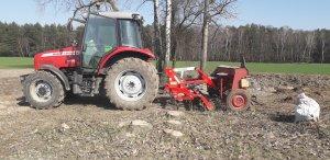 Massey Ferguson 5455 i Agrosystem+poznaniak 2.5m
