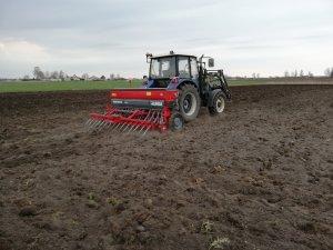 Farmtrac 675 DT + Unia poznaniak 500/3