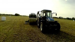 New Holland td 5050 + owijarki pronar