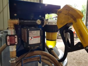 pompa do paliwa z osprzętem