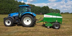New Holland T6.175+Sipma Z-569/1 Farma II