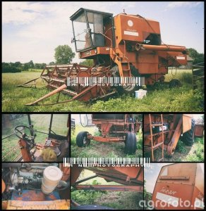 BIZON Z055 America/LONG 5000 Grain Combine