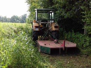 Ursus C-360 i rozdrabniacz sadowniczy