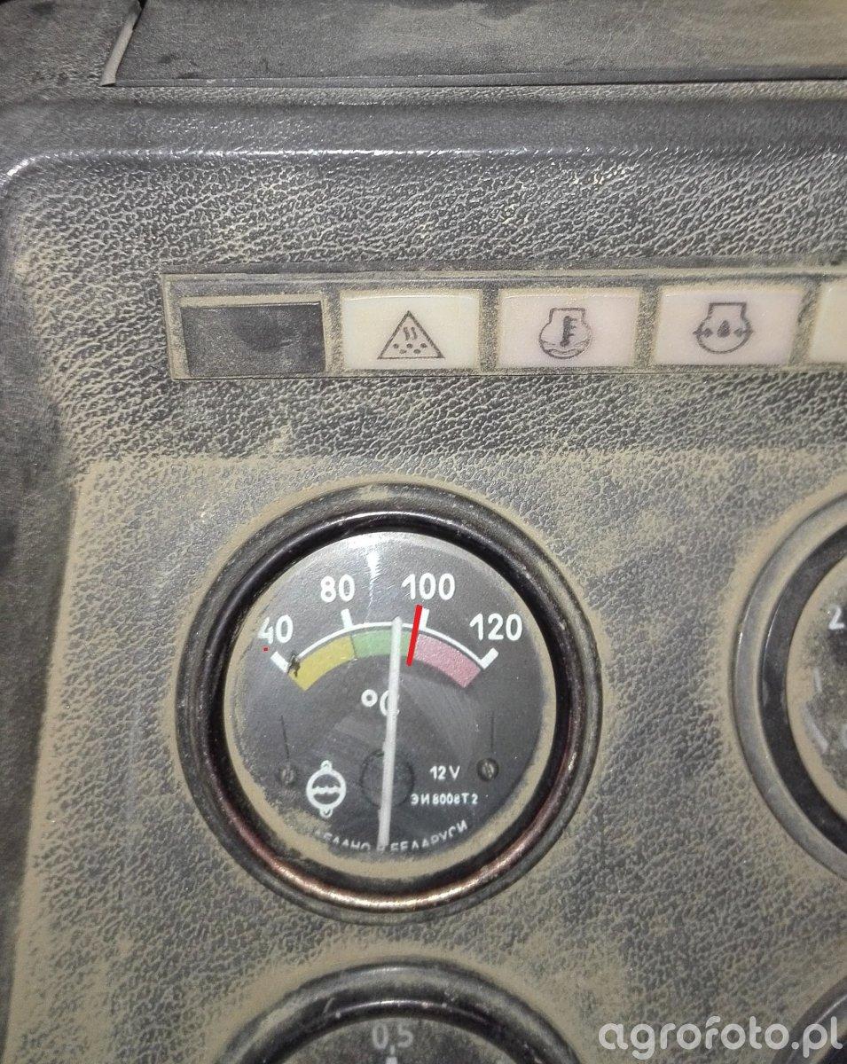 Wskaźnik temperatury w MTZ 82