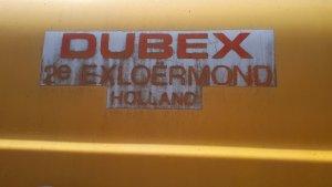 Części  opryskiwacż Dubex!!