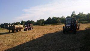 Farmtrac 6075 DT + Supertino & MF 235