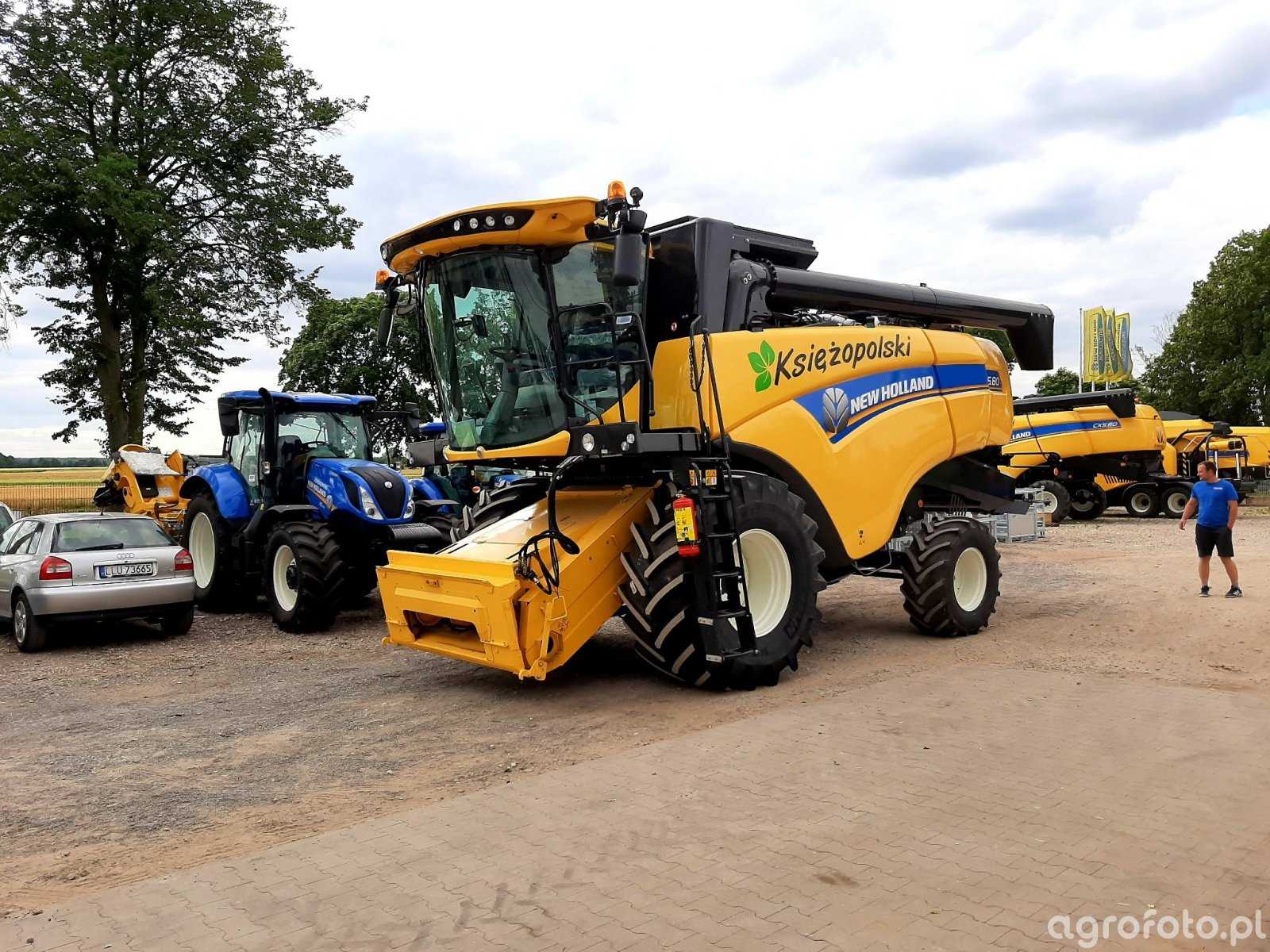 Kombajn New Holland CX 5.80