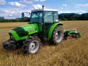 Deutz Fahr Agrolux 65 & Tolmet Simply 220