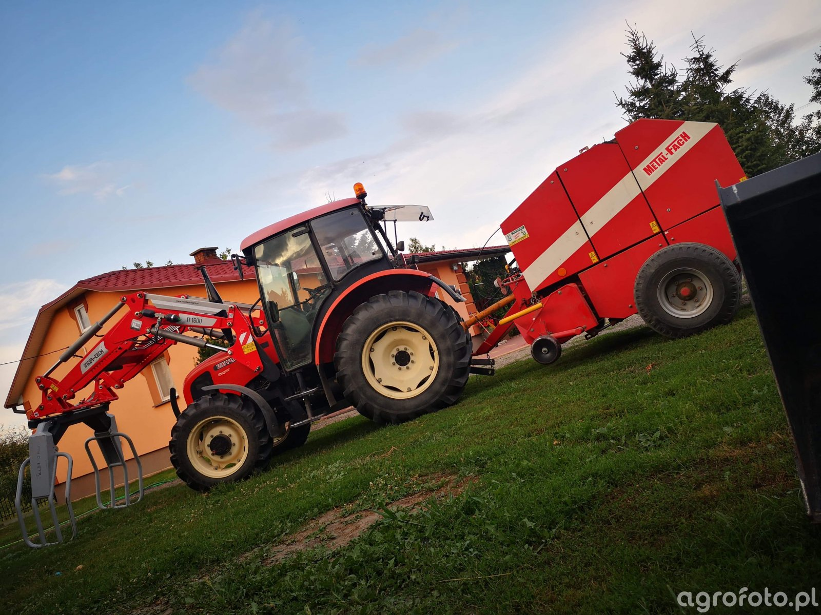 Zetor 6341 Super + Metal-Fach