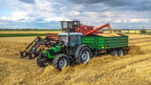 Agrofarm 85 + Wielton 8T i Bizon